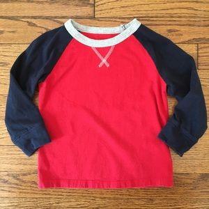 Baby Gap Long Sleeve Raglan T-shirt